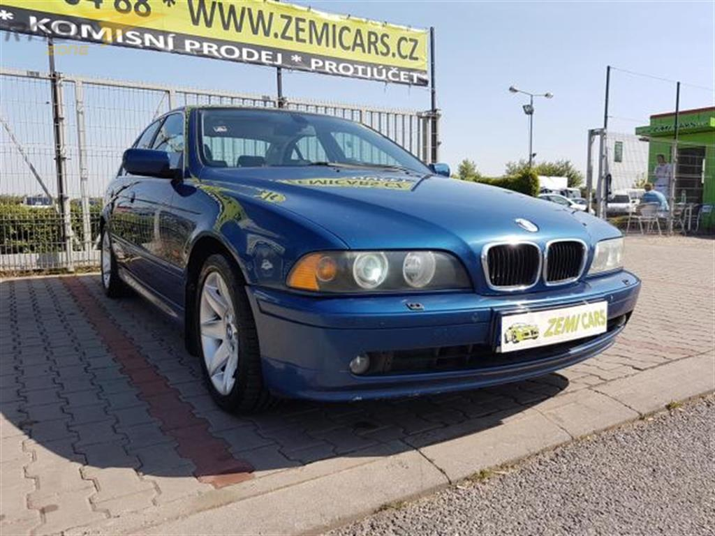 BMW Řada 5 525i, MANUAL, XENON, NAVI, TV Sedan, rok 2001