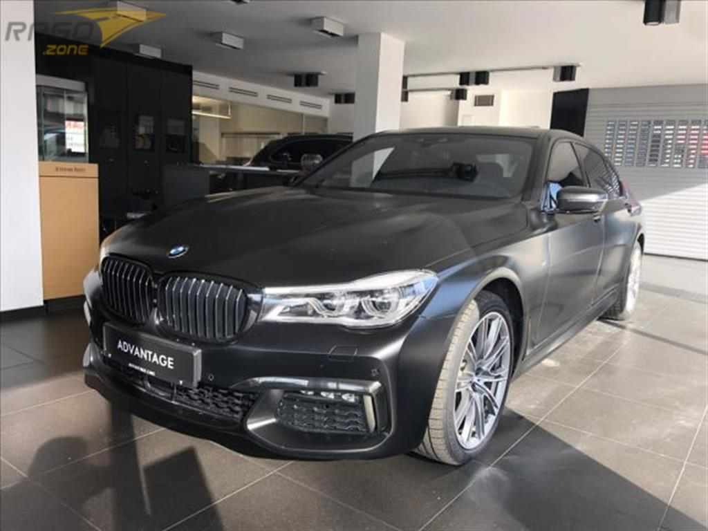 BMW Řada 7 750Ld xDrive Black Fire limite Sedan, rok 2018