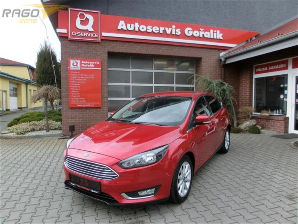 Ford Focus 1,5 ecoboost-TITANIUM-TOP STAV Hatchback, rok 2016