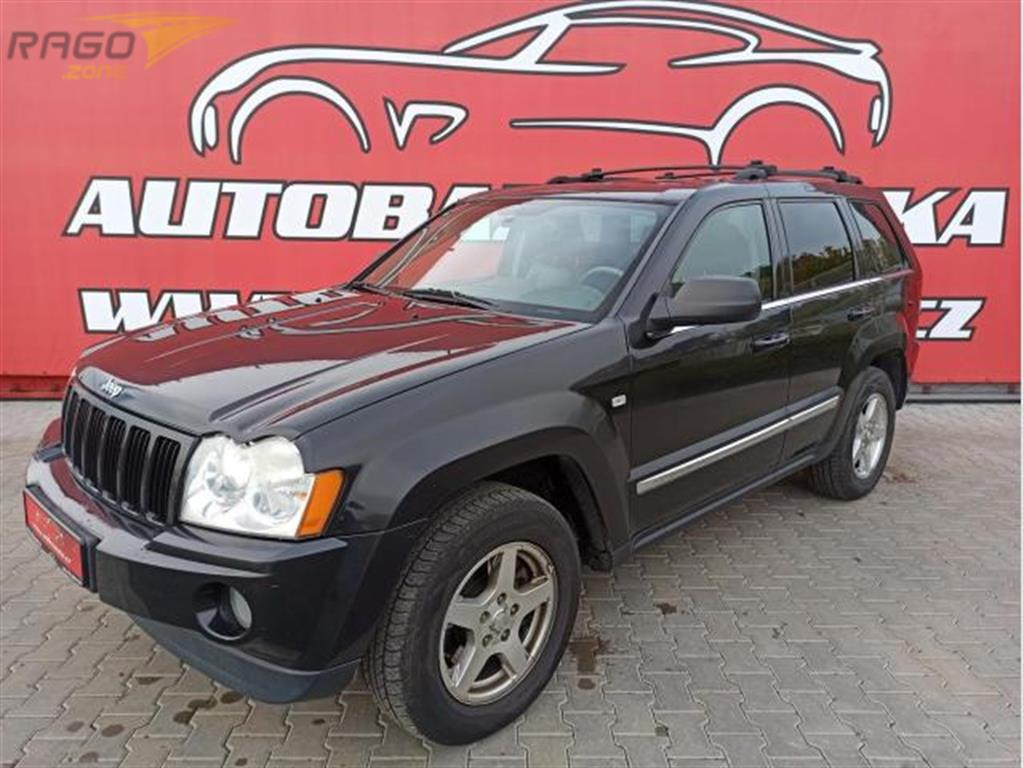 Jeep Grand Cherokee 3.0 CRD LIMITED 4X4, AUTOMAT Terenní vozidlo / SUV, rok 2005