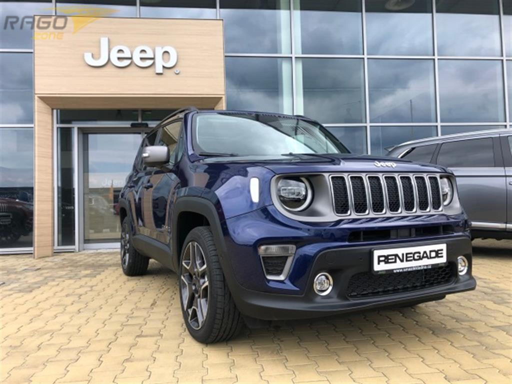 Jeep Renegade 1.3 T 180 k 4x4 Auto9 Limited Terenní vozidlo / SUV, rok 2020