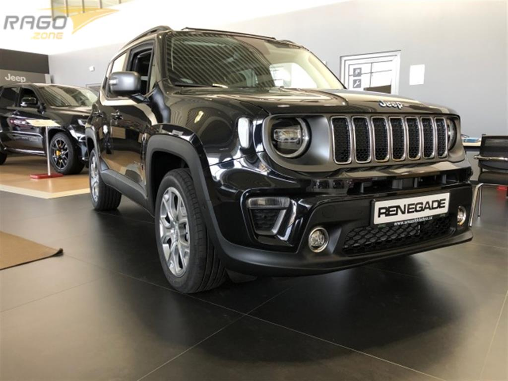Jeep Renegade 1.3T PHEV 190k 4XE Limited Terenní vozidlo / SUV, rok 2020