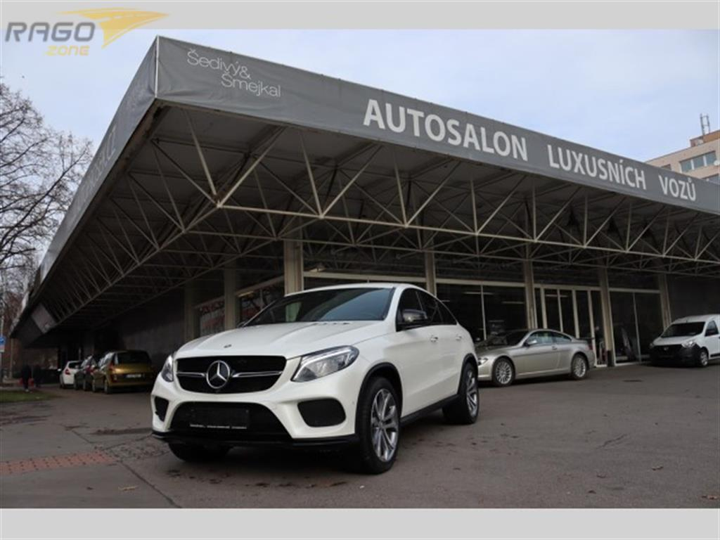 Mercedes-Benz GLE COUPE 350D 4MATIC AMG LINE DPH Kupé, rok 2015